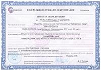 Аттестат аккредитации СОУТ 1